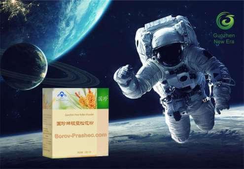 Оздравителни продукти, специално за астронавтите и космонавтиката на Китай